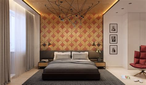 interior design on wall at home wooden wall designs 30 striking bedrooms that use the