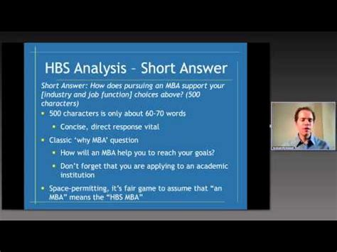 Hbs Mba Essay Analysis by Harvard Business School Mba Essay Analysis 2012 2013