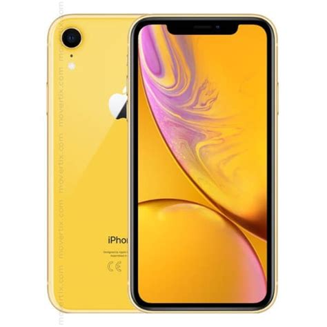 apple iphone xr yellow 128gb 0190198773678 movertix mobile phones shop
