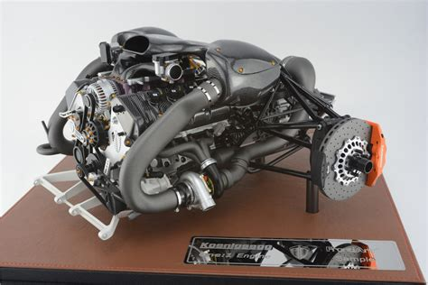 1 6th Frontiart Koenigsegg One 1 Engine