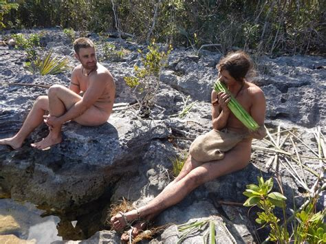 sexy and afraid celeb naked and afraid stars discuss surviving the wilderness