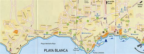 Detailed Free Search Large Playa Blanca Maps For Free And Print High Resolution And Detailed Maps