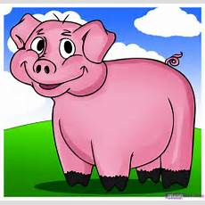 Cute Pigs To Draw