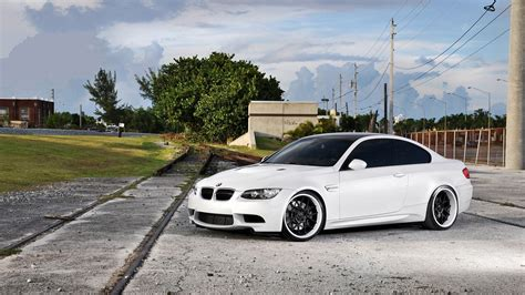 Tuned Up Cars Wallpapers by Cars Vehicles Tuning White Cars Tuned Bmw M3 E92 Wallpaper