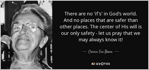 quot my way quot di corrie ten boom quote there are no if s in god s world