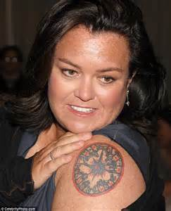 rosie o donnell tweets photo of bandaged arm after painful