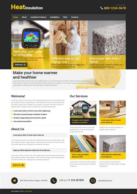 home repairs responsive website template 48459