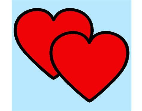 imagenes de corazones grandes y rojos dibujos de corazones para colorear dibujos net