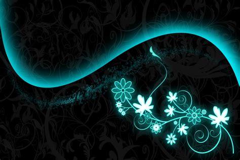 imagenes mundos oscuros flores iluminadas en un fondo oscuro 79164