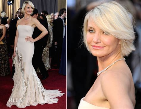 Catwalk To Carpet Cameron Diaz In Gucci by Cameron Diaz In Gucci Premi 232 Re 2012 Oscars Carpet