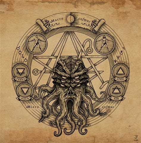 cthulhu pentagram by jack burton25 on deviantart