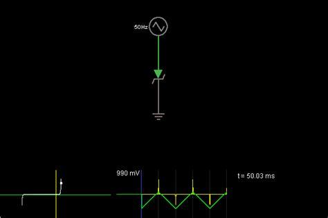 zener diode iv curve zener i v curve circuit simulator