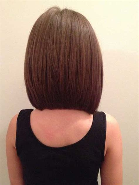 a line haircuts front and back views medium length inverted bob back view www pixshark com