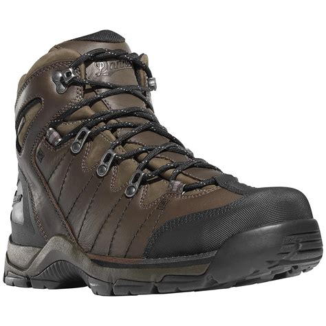 danner boots danner 174 5 1 2 quot mt defiance leather hiking boots brown