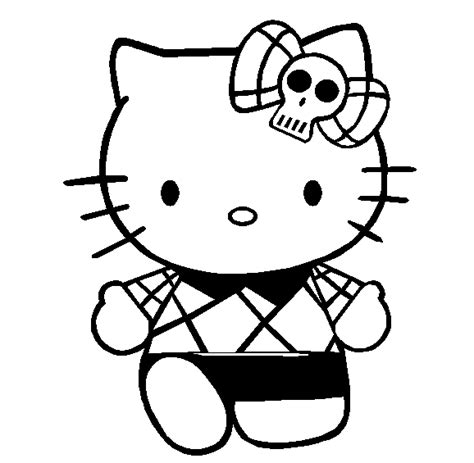 kitty coloring pages 2 coloring pages print