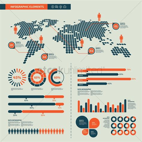 infographic layout vector infographic design elements vector image 1798246