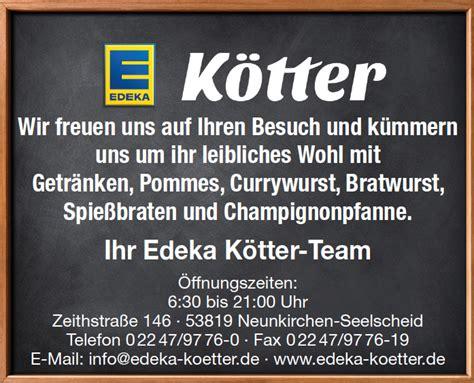 kotter germany edeka k 246 tter seelscheid nordrhein westfalen germany