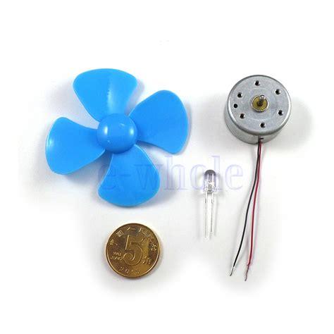 Lu Led Motor Blade mini wind turbines generator small motor led blades