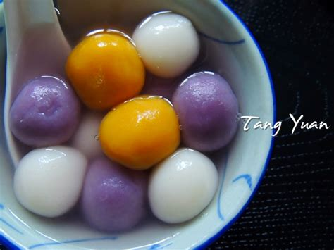 new year food tang yuan tang yuan 汤圆 cook bake diary