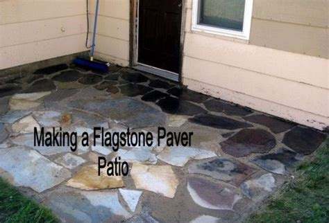 diy paver patio difficulty how to install or lay flagstone pavers building a