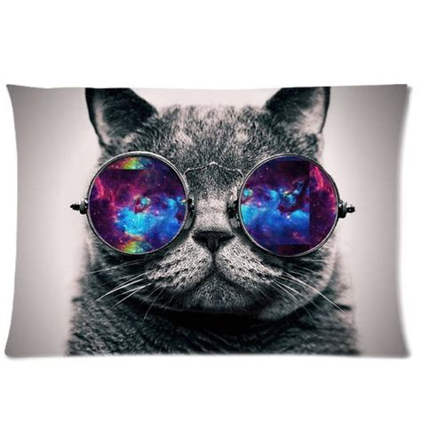 wallpaper cat with sunglasses galaxy hipster cat theme funny cat wear color sunglasses
