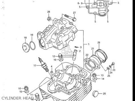 Suzuki Sp200 Parts Suzuki Sp200 1986 1988 Usa Parts List Partsmanual Partsfiche