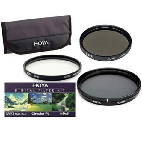 Filter Kit Hoya 52mm Uv Cpl Nd 8 hoya 72mm 3x filter kit hmc digital uv c circular polarising cpl nd8 pouch ebay