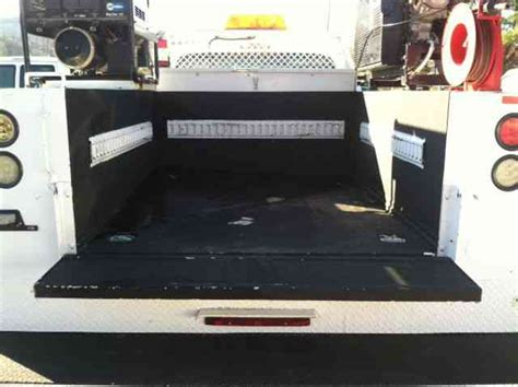 truck bed air compressor ford f450 2012 utility service trucks