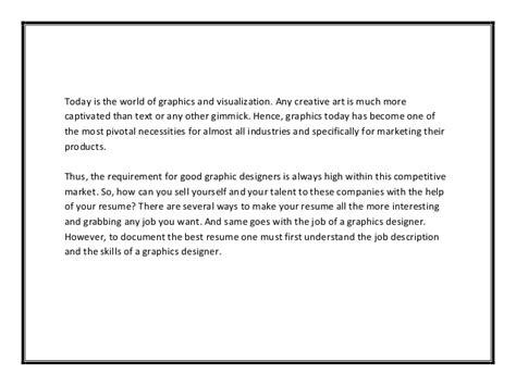 Curriculum Designer Cover Letter by Curriculum Vitae Graphic Design Sle Pdf 100 Original Papers Www Alabrisa