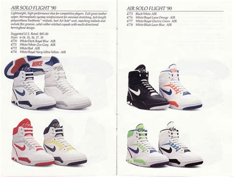 1990s nike basketball shoes nike basketball catalog from 1990 sneakernews
