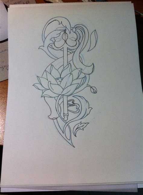 new school key tattoo collection of 25 old school key tattoo sketch