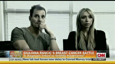 Giuliana Rancics Brave Breast Cancer Battle by Giuliana Rancic I Breast Cancer Cnn