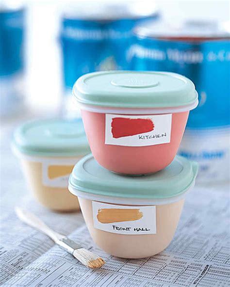 martha stewart crafts paint customized kitchen containers leftover paint storage martha stewart