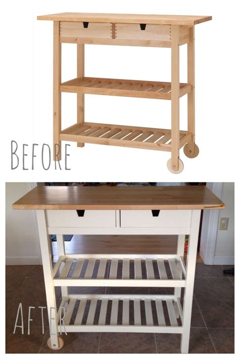 kitchen island cart ikea i customized this ikea f 214 rh 214 ja kitchen cart and custom