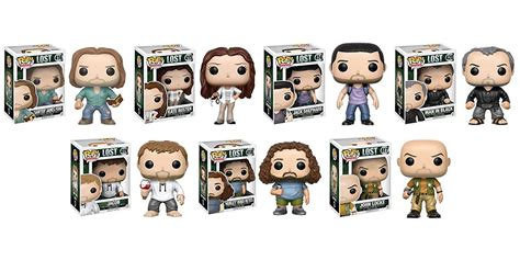 Funko Pop Promotion Set Lost the lost cast has its own line of funkos and you need it now
