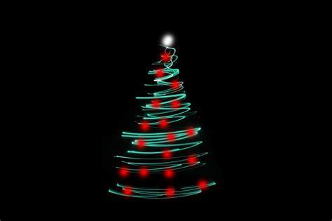 christmas tree with led changing lights