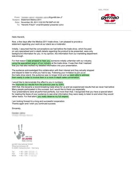thank you letter after sales presentation sle thank you letter after sales presentation 28 images