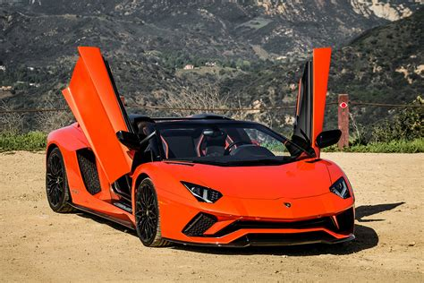 lamborghini aventador s roadster orange lamborghini aventador s roadster review this bull leaves a mark 95 octane