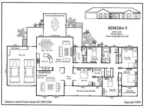 Simple 5 Bedroom House Plans 5 Bedroom House Plans 5 Bedroom House Floor Plans