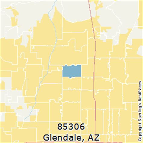 zip code map glendale az best places to live in glendale zip 85306 arizona