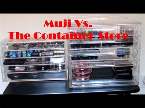 stores like the container store muji vs the container store organization ideas youtube