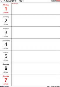 Word Vorlage Tagebuch Wochenkalender 2018 Als Excel Vorlagen Zum Ausdrucken