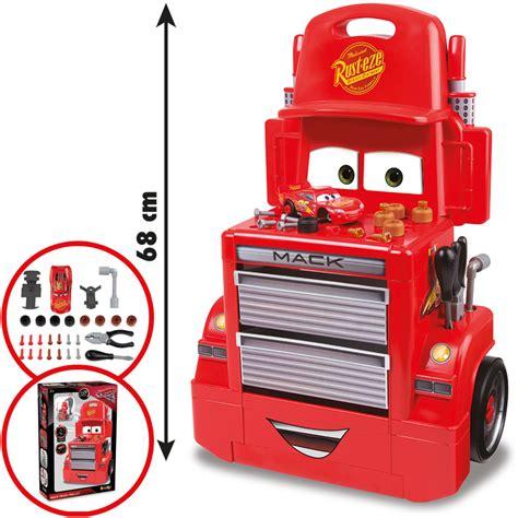 werkstatt trolley smoby cars mack truck werkstatt trolley bei nunon de