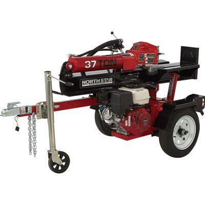 Rugged Log Splitter by The Rugged And Sturdy Best Log Splitter