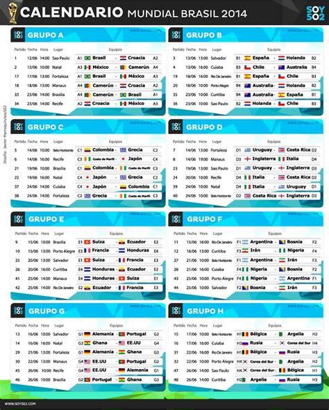 mundial 2014 mortadelo y c 243 mo descargar y seguir el calendario del mundial de brasil 2014 desde el m 243 vil o la tableta