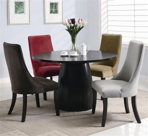 Dining Table Black Wood Coaster Amhurst 101590 Black Wood Dining Table In Los