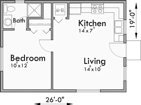 Small One Bedroom House Plans by Small House Plans Studio House Plans One Bedroom House