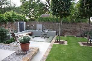 garden desing multi level linear garden hertfordshire designed by kate