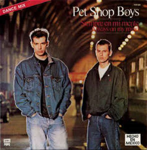 pet shop boys always on my mind in my house pet shop boys siempre en mi mente always on my mind vinyl at discogs