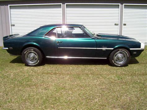 green chevrolet chrysler seller of classic cars 1968 chevrolet camaro 93
